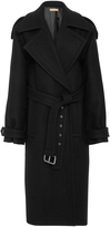 Michael Kors Oversized Wool Melton Trench Coat