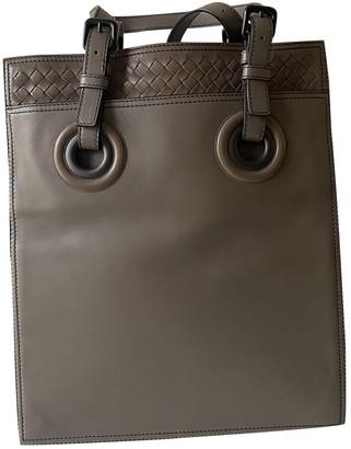 Bottega Veneta Grey Leather Bags