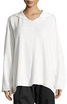 eskandar Hooded Merino Wool Sweater