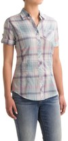 North River Voile Shirt - Roll-Up Elbow Sleeve (For Women)