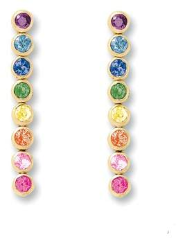 Shebee Gem 8-Drop Earrings