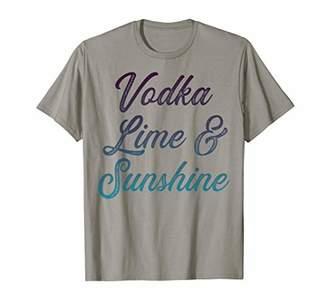 Vodka lime and sunshine T-Shirt