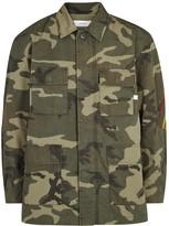 Facetasm Camouflage Cotton Field Jacket
