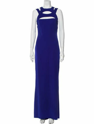 Gucci 2009 Long Dress Purple