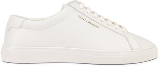 Saint Laurent Andy Sneaker in White | FWRD