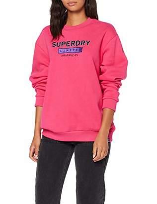 Superdry Women's Nineties Applique Crew Sweatshirt,XX-Small