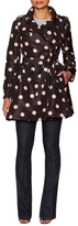 RED Valentino Polka Dot Trench Coat