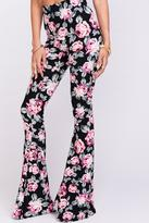 Show Me Your Mumu Floral Flare Pants