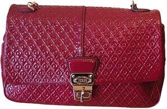 Tod's Wave Red Patent leather Handbags
