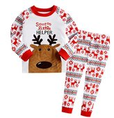 kiccoly 12M-7Years Baby Girls Pajamas Outfits Sets Boys Christmas Long Sleeve and Pants (T, )