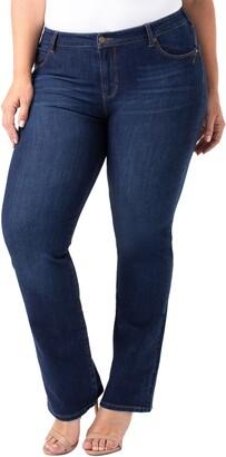 Liverpool Remy Hugger Straight Leg Jeans
