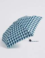 Marks and Spencer Spotted Compact Umbrella with StormwearTM