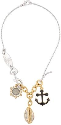 Vivienne Westwood Nautical Pendant Necklace