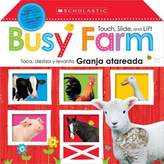 "Scholastic Touch, Slide and Lift ""Busy Farm"" Board Book (English/Spanish)"