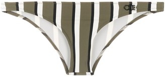 Solid & Striped Block Stripe Bikini Bottoms
