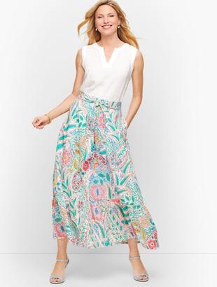 Talbots Ratti Coronado Paisley Maxi Skirt
