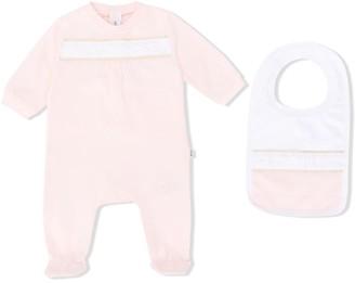 Boss Kidswear Logo Embroidered Pajamas