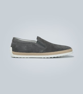 Tod's Slip-on suede shoes
