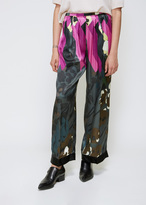 Dries Van Noten Fuschia Print Palmer Bis