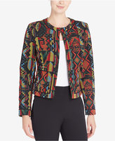 Catherine Malandrino Laurel Printed Moto Jacket