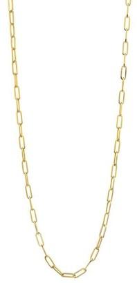 Alberto Milani Millennia 18K Yellow Gold Chain Link Necklace