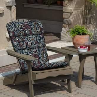 Adirondack Fleur De Lis Living Palmira Paisley Indoor Chair Cushion Fleur De Lis Living
