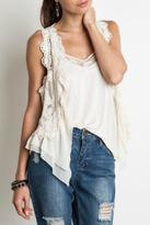 Umgee USA Chic Lace Vest
