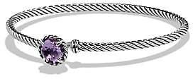 David Yurman Women's Châtelaine® Sterling Silver Faceted Dome Bracelet