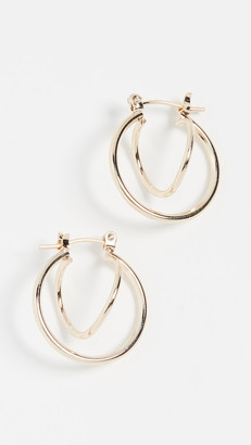 Jules Smith Designs Twisted Huggie Earrings
