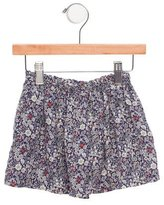 Makie Girls' Floral Print Circle Skirt