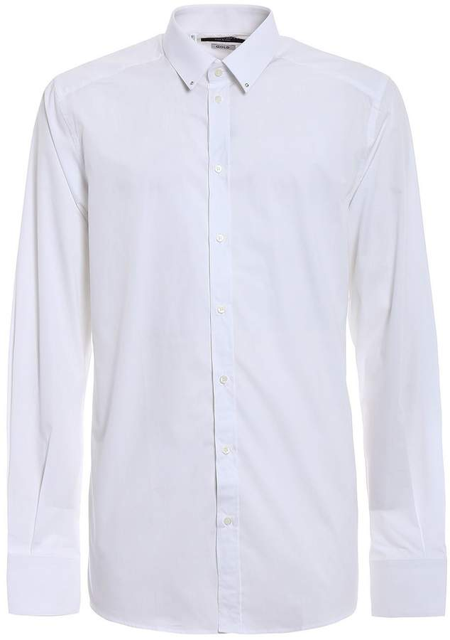 Dolce & Gabbana Botton Down Popeline Shirt