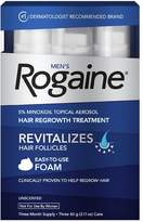 Rogaine Men's Hair Regrowth Treatment Foam Unscented