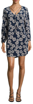 Trina Turk Granville Silk Printed Dress