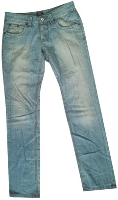 Giorgio Armani Blue Cotton Jeans for Women Vintage