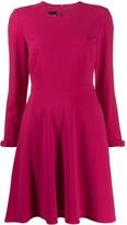 Moschino crepe swing dress