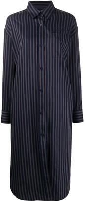 Han Kjobenhavn Oversized Striped Shirt Dress