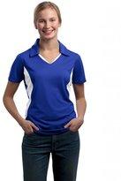 Sport-Tek Sport Tek Women's Side Blocked Performance Polo Shirt. LST655