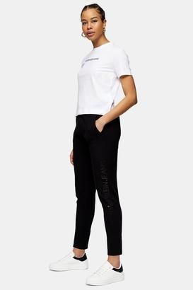 Calvin Klein Womens Black Jogger Pants By Black