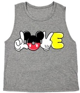 Junior's Mickey Mouse Love Graphic Tank