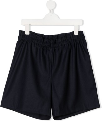 Bonpoint TEEN elasticated knitted shorts