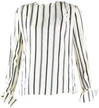 Louis Vuitton \N Ecru Silk Tops