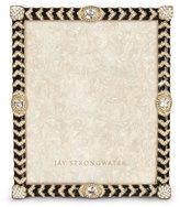 "Jay Strongwater Crystal Chevron 8"" x 10"" Frame"