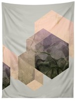 DENY Designs Marble Geometry Tapestry