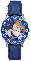 Disney Disney's Mickey Mouse Boys' Leather Watch