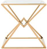 Safavieh Fiorella Glass Top End Table