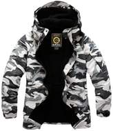 South Play Mens Premium Military Ski Snowboard Boardwear Hood Jacket Jumper