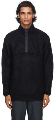 Nanamica Navy Nanamican Pullover Sweater