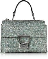 Coccinelle Arlettis Silver Glitter Mini Shoulder Bag