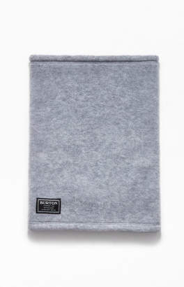 Burton Heather Grey Ember Fleece Neckwarmer