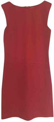 Burberry Red Wool Dresses